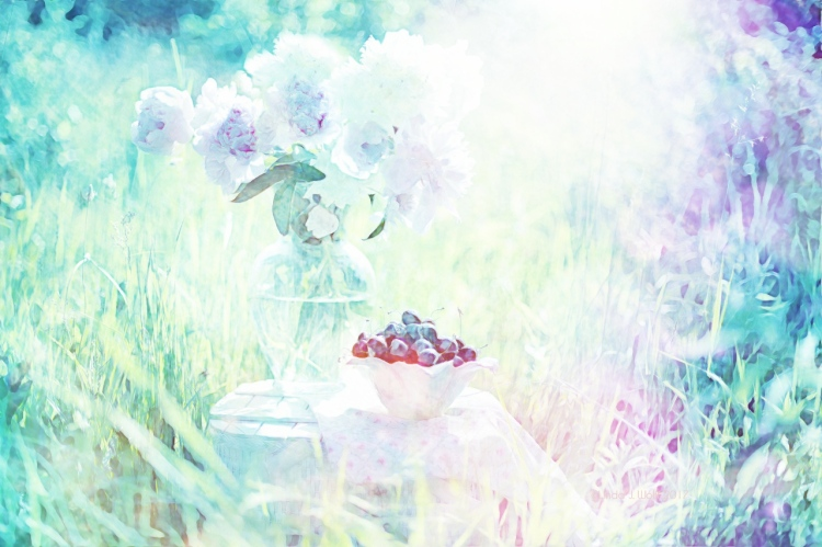 image of peonies and poetry