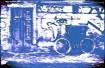 image of street, door, bicycle
