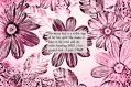 image of floral print and quote