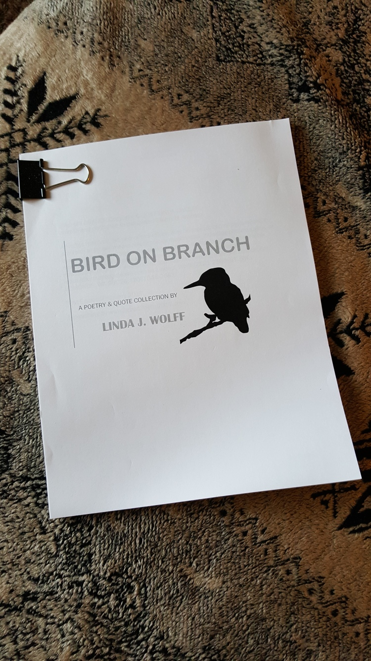 Image of manuscript Bird On Branch