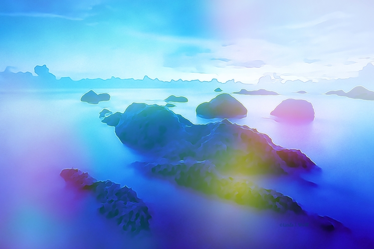 """Image of free verse poetry """"Seascape of Love""""."""