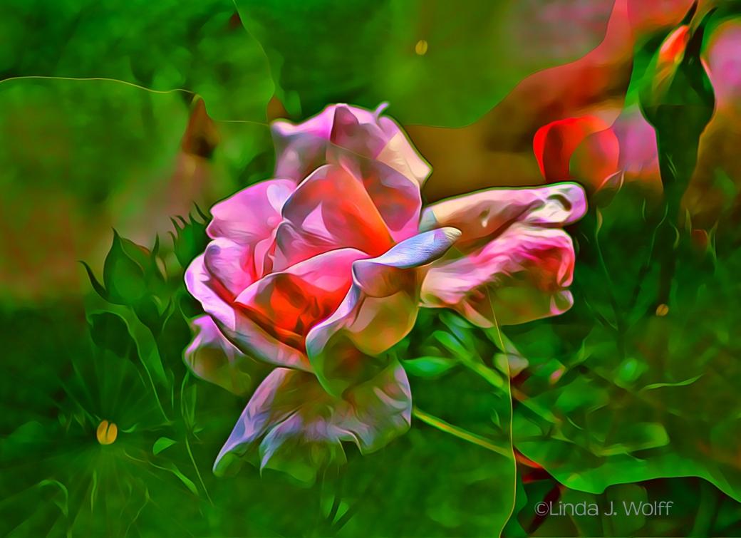 Image of Urban Ekphrastic Poem - Obsession with Roses